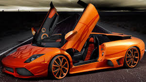 lamborghini glossy orange lamborghini desktop background hd 1920x1080 deskbg com