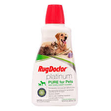amazon com rug doctor platinum pure for pets cleaning solution