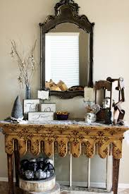 halloween console table dollar store thrift store and walmart