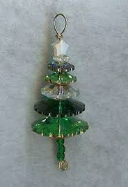 How To Make Christmas Ornaments Out Of Beads - beaded santa clause ornament by doll house shoppe christma s