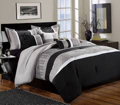 Black And White Comforter Set King White Comforter Sets King Home Design Ideas