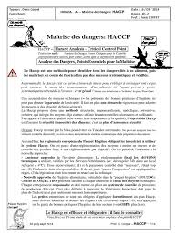 dispense haccp cours haccp doc pdf