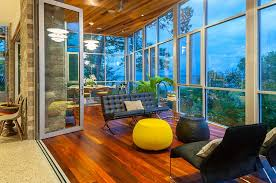 sunroom designs designs ideas minimalist sunroom with modern tufted chair feat