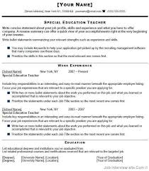 Sample Objective For Teacher Resume by Surprising Effective Resume Writing 10 Sample Effective Resume