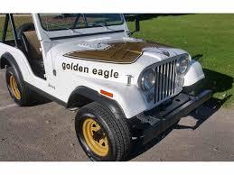 jeep golden eagle decal 1978 jeep cj5 for sale classiccars com cc 1032238