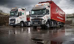 volvo edmonton trucks j o u0027doherty haulage takes heavy duty volvos commercial motor
