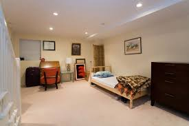 bedroom adorable ideas for basement bedroom decoration using