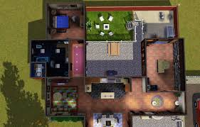 mod the sims detective house