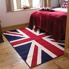 Red White And Blue Rugs Union Jack Rugs In Red White And Blue 60 U0027s Style