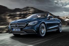 v12 powered 2017 mercedes benz s65 cabriolet offers enormous power