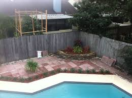 nice red flagstone pavers home depot in outdoor pool area popular