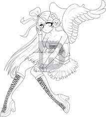draw angel draw anime angel anime angel step