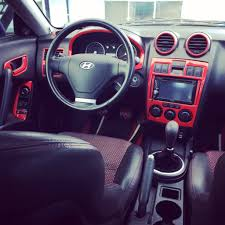 hyundai tiburon tuscani white and black interior auto addiction