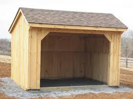 Small Barns Portable Row Horse Barns 4 Outdoor
