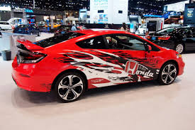 custom honda civic si honda u0027s forza motorsport civic si revealed at the chicago auto show