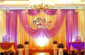 wedding backdrop fabric 2017 3m 6m fabric satin drape curtain wedding backdrop canopy