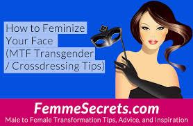 crossdressing short hair how to feminize your face mtf transgender crossdressing tips