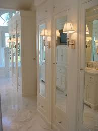 linen closet door ideas closet traditional with long closet glass