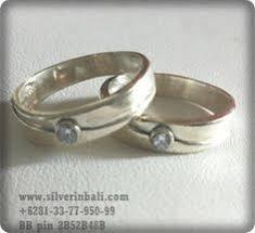 cincin cople aksesoris perhiasan perak cincin cincin kawin cincin