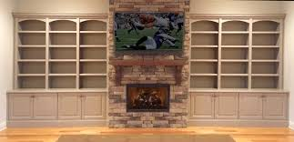 Wall Bookcases With Doors Custom Bookcases Orlando Wood Shelving Wooden Wall Units