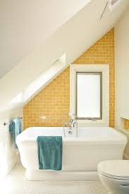 trendy twist to a timeless color scheme bathrooms in blue and yellow view in gallery gorgeous yellow and turquoise beach style bathroom design renewal design build