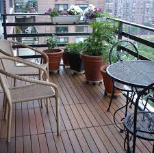 swiftdeck ipe wood interlocking tiles liven up your balcony