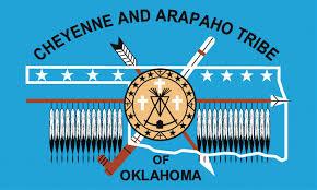 Flag Of Oklahoma Die Cheyenne