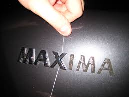 nissan maxima used 2010 how to remove unwanted stick on badges featuring the 2010 nissan