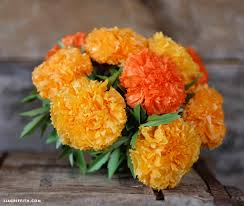 tissue paper flowers printable instructions tissue paper marigolds lia griffith