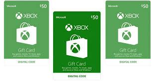 xbox digital gift card 50 xbox egift card only 45 hip2save