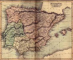 Ancient Africa Map by Vintage Map Of Ancient Spain Hispania