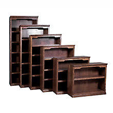 Four Shelf Bookcase Solid Wood Bookcases Officefurniture Com