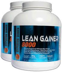 Gluta Vire lean gainer 8000 protein weight gain pre workout powders