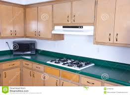 old outdated kitchen cabinets needs remodeling royalty free stock