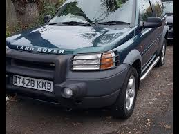 land rover freelander 2000 interior used land rover freelander 1 8 for sale motors co uk