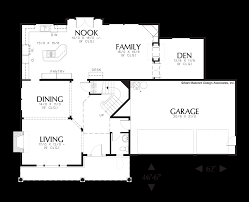 House Plans For Two Families by Mascord House Plan 22113a The Clairborne