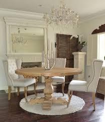 kitchen reclaimed wood round kitchen table on kitchen inside