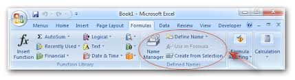 ribbon with names where is name box in microsoft excel 2007 2010 2013 and 2016