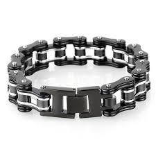 black stainless steel chain bracelet images Litexim heavy duty bracelet 316l stainless steel men 39 s jpg