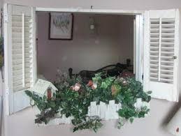 Upcycling Old Windows - upcycling window shutters u2022 nifty homestead
