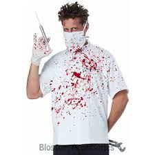 Dentist Halloween Costume Ca106 Doctor Novocaine Creepy Scary Killer Zombie Evil Dentist