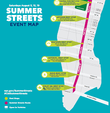 a map nyc summer streets nyc 2017 dates a map and more curbed ny