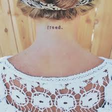 freed neck typewriter font small word jesus