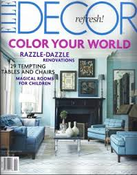 Interior Design Magazine Subscriptions by Elle Decor Magazine Subscription Deal Only 4 50 For The Year