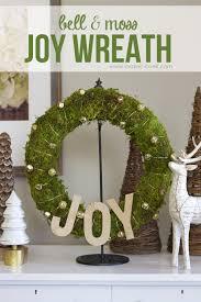 make a simple bell u0026 moss joy wreath make it and love it