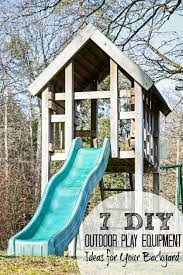Building A Backyard Playground by 7 Diy Outdoor Play Equipment Ideas For Your Backyard Tipsaholic