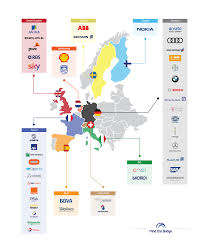 Silicon Valley Map Corporate Europe Is Landing In Silicon Valley To Boost Innovation