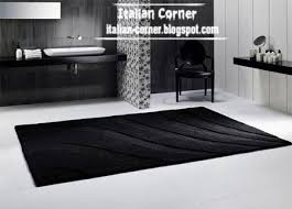 Black Modern Rugs Inspiring Black Carpets Images Best Inspiration Home Design