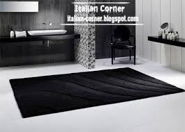 Black Modern Rug Modern Italian Carpets Modern Rugs Colors Models