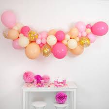 balloon garland blossom balloon cloud kit by bubblegum balloons